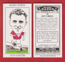 Manchester United Don Gibson 28